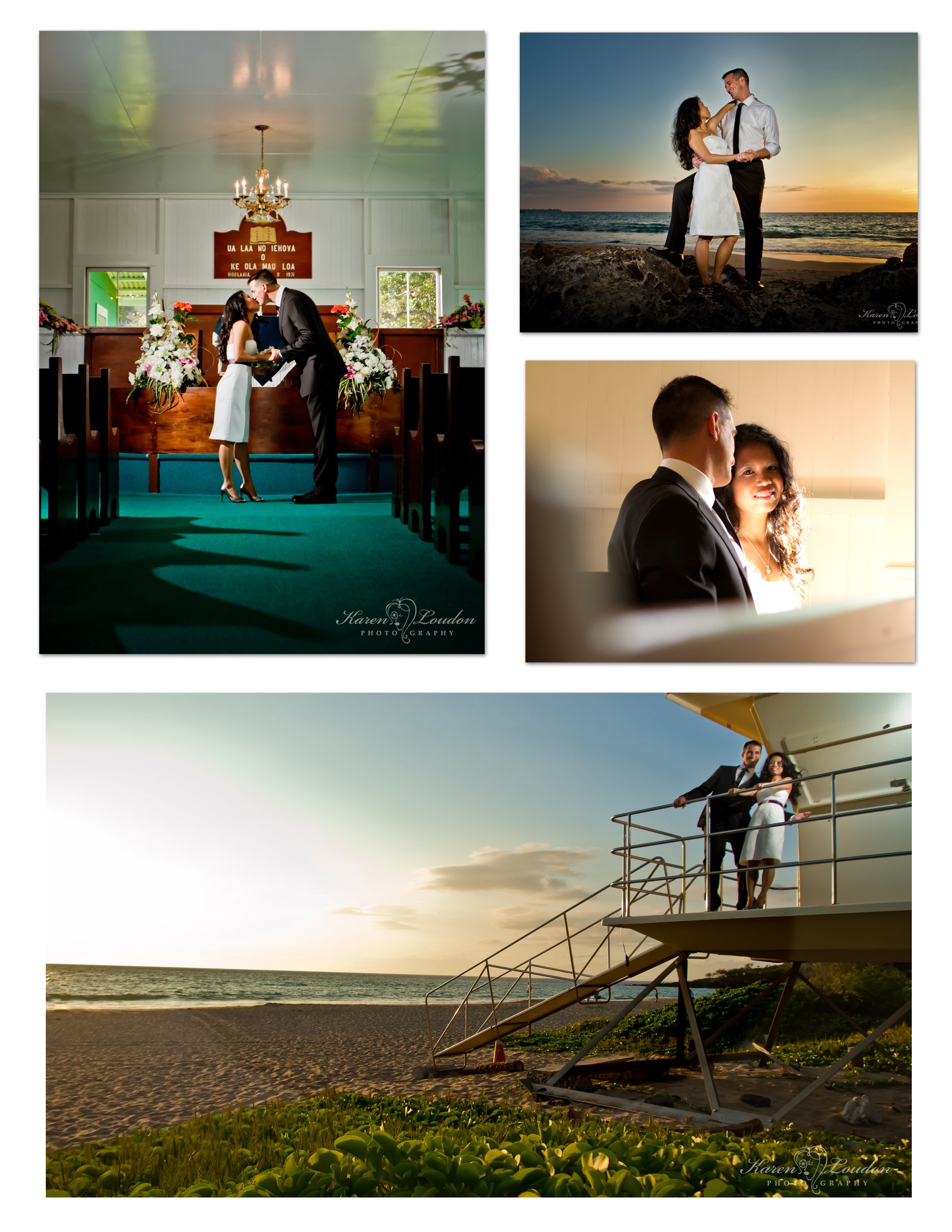 Ke Ola Mau Loa Church Wedding Photographer