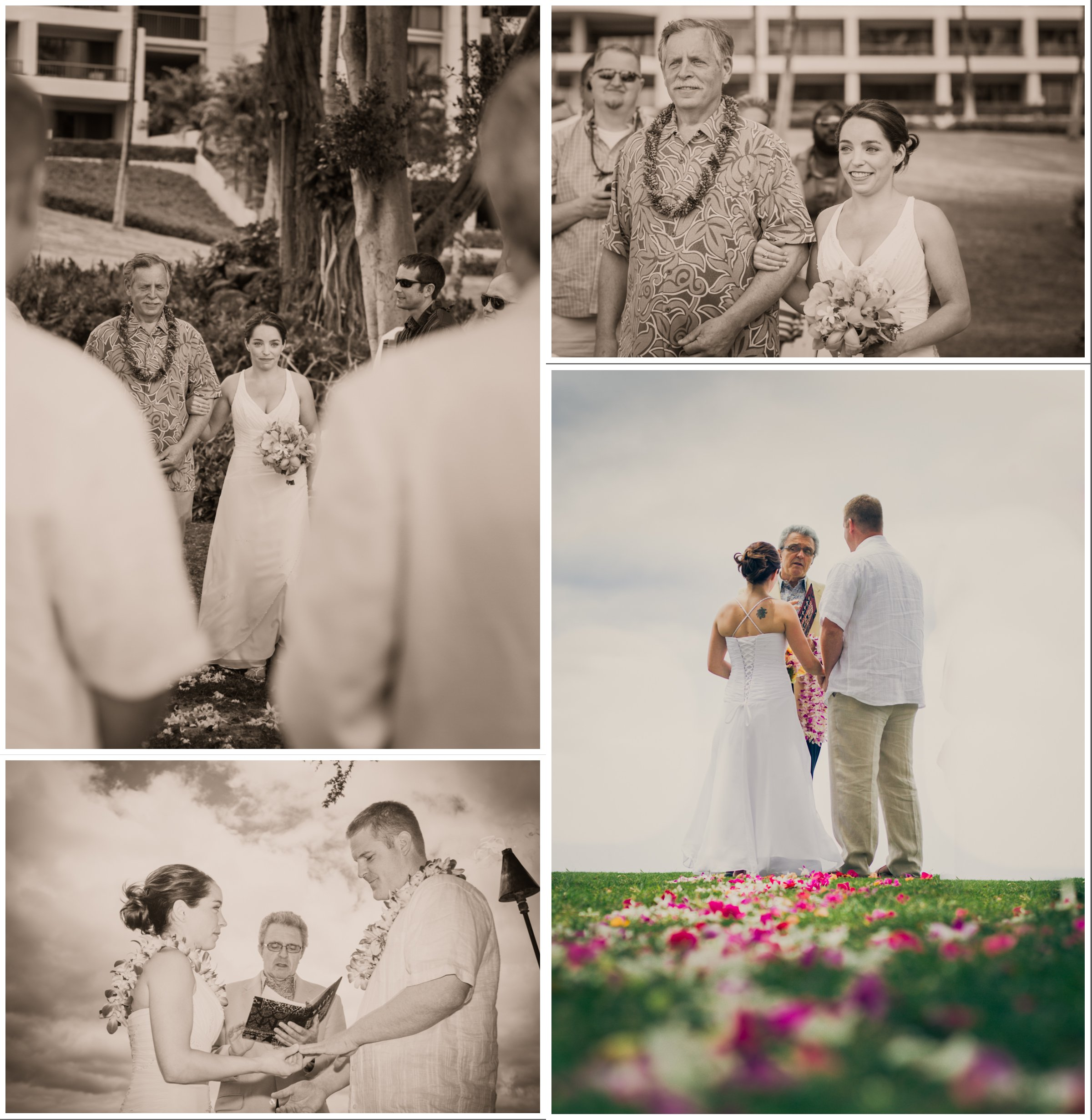 Hapuna Beach Wedding on the Big Island of Hawaii