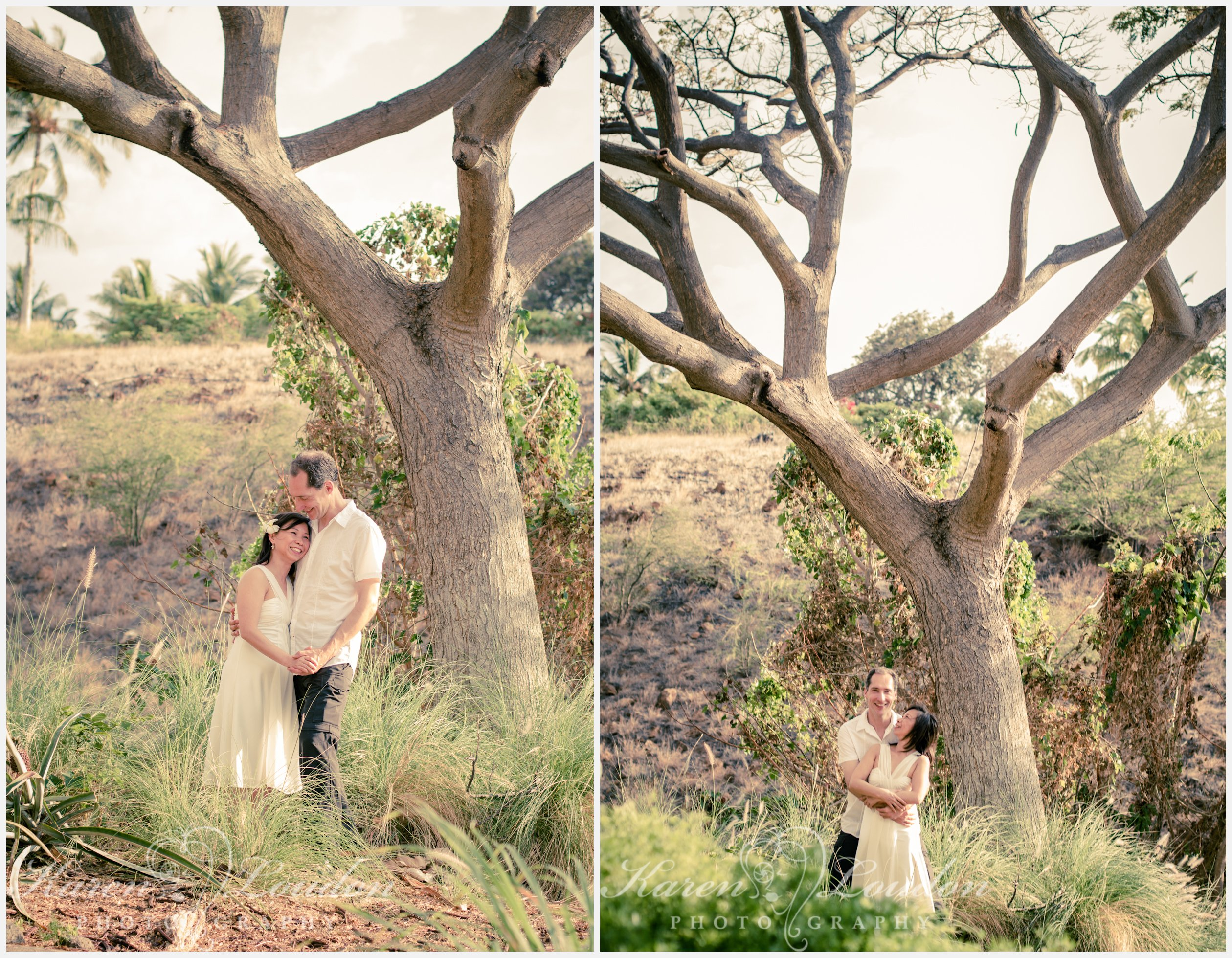 A wedding elopement at the Westin Hapuna Beach Resort