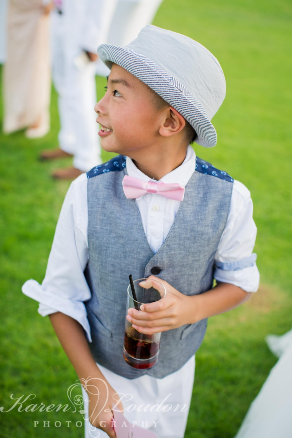 Fairmont Orchid Ring Bearer