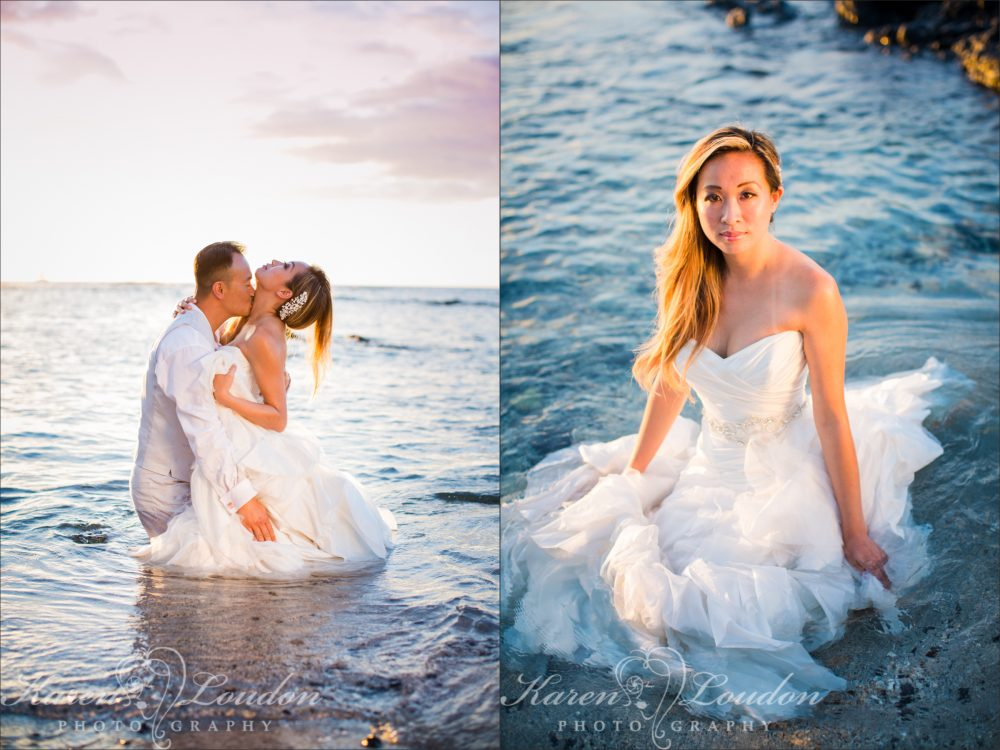 Waikaloa Ocean Wedding Photography