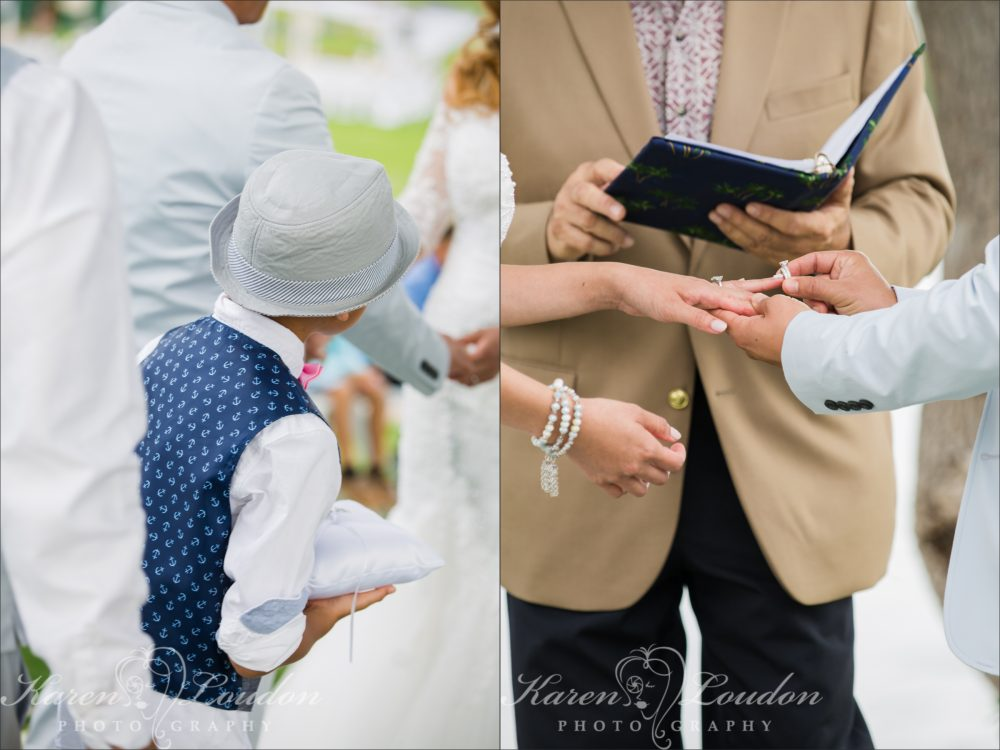 Waikaloa Fairmont Orchid Ring Bearer