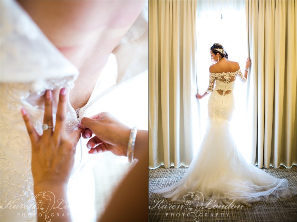 Waikaloa Wedding Dress Photgraphy