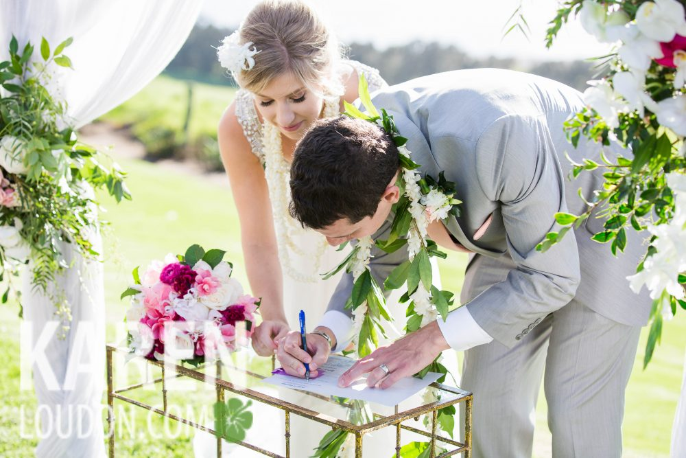 Kahua Ranch Wedding