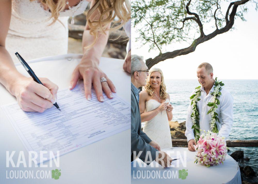 Mauna Kea Beach Hotel Wedding