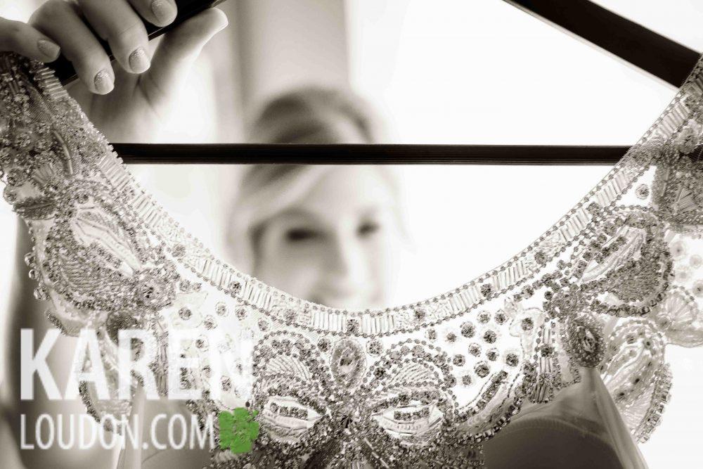 Blue Bridal Photography