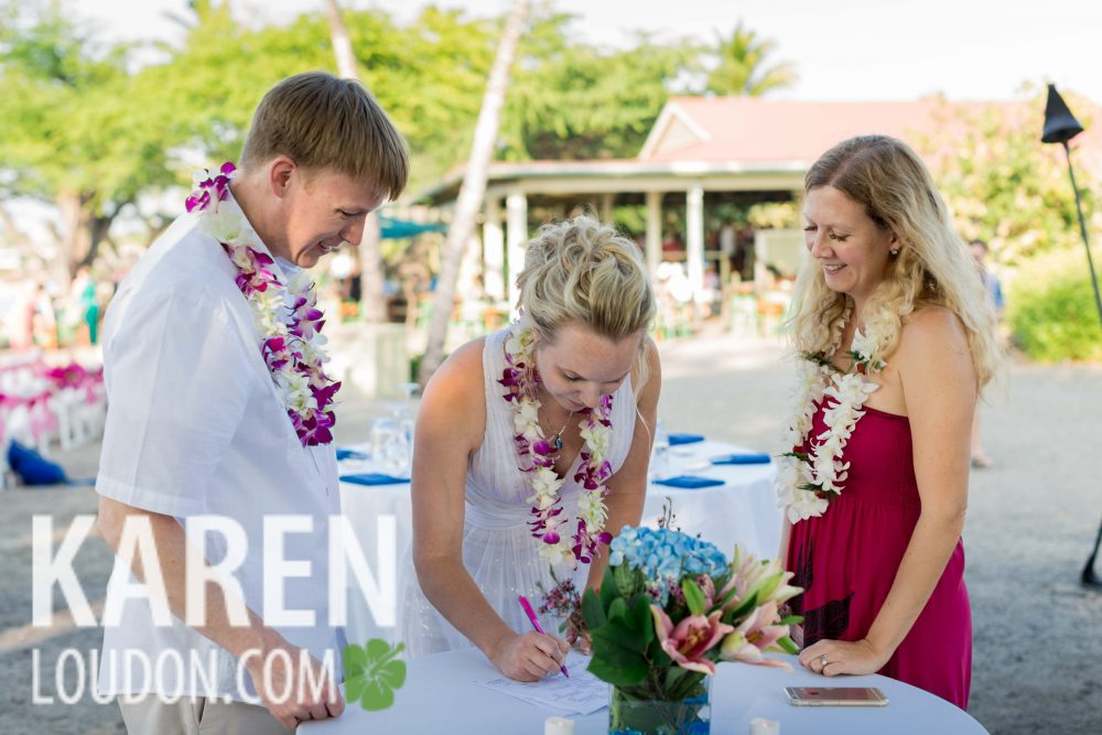 Waikaloa Wedding Big Island of Hawaii