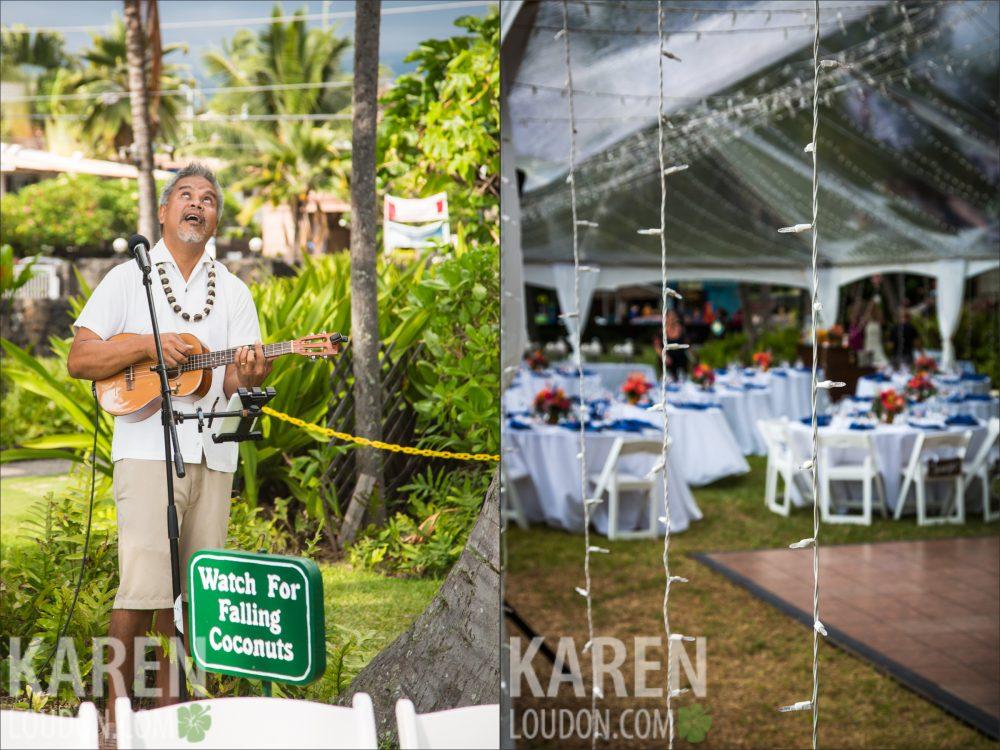 Hulihee Palace Big Island Wedding