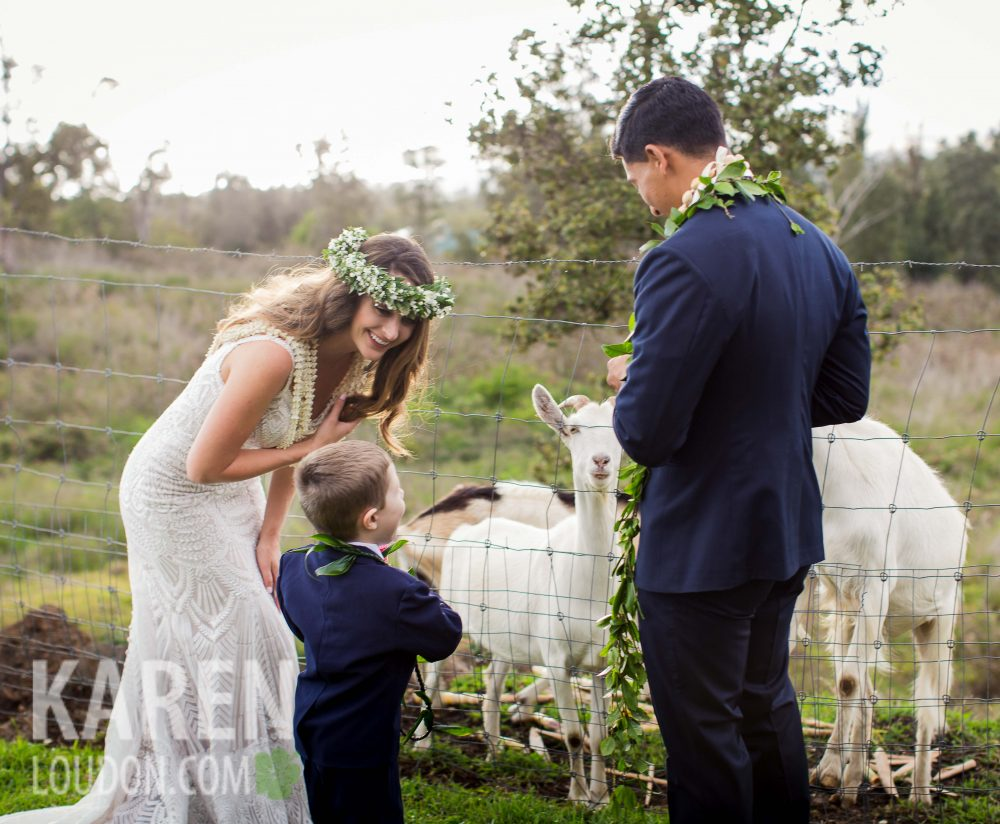Hulualoa Farm wedding