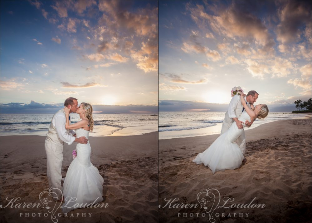 White Rock Beach Hawaii wedding