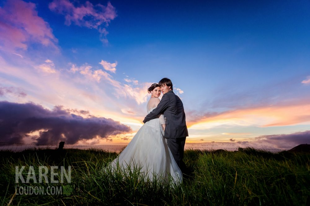 Hawaii Ranch wedding photo