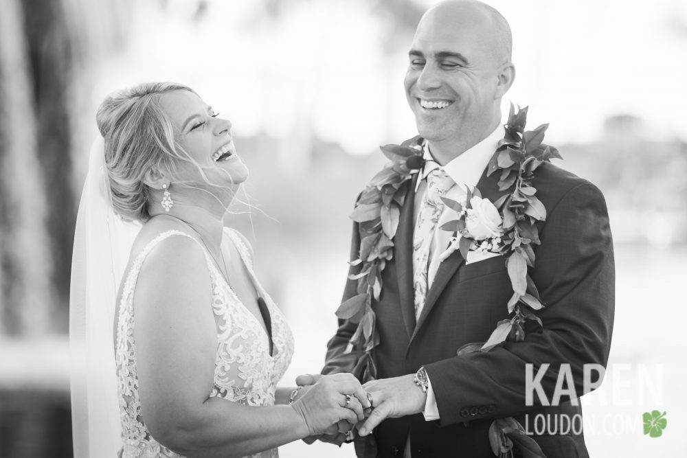 bride & groom big island hawaii photographer