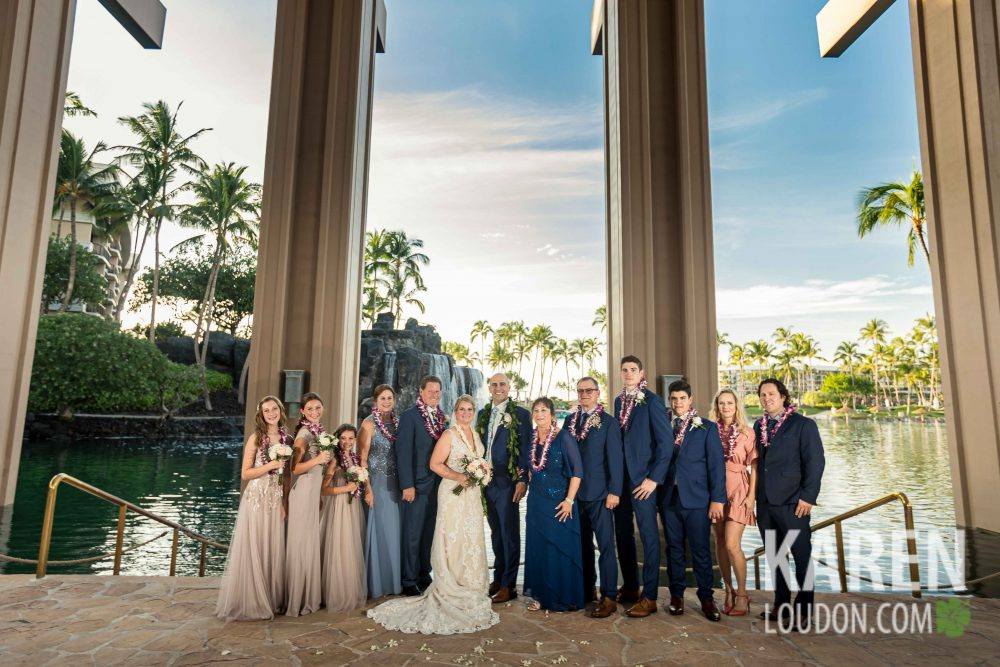 big island wedding party photographer