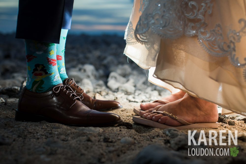 Waikoloa wedding shoes