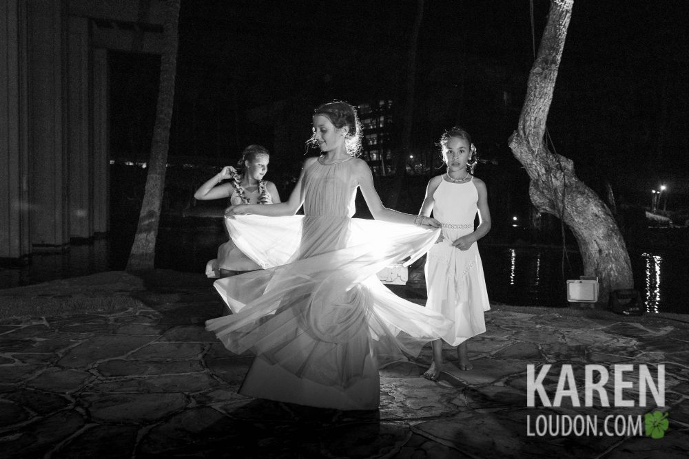 Waikoloa wedding reception
